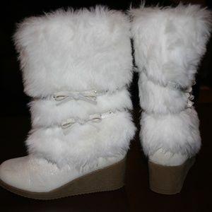 Kid Fur Boots